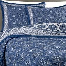 Buy Cotton King Quilts from Bed Bath & Beyond & Kolar Cotton Voile King Quilt Set in Indigo Adamdwight.com