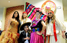 the crusader photo essay hispanic heritage month highlighted in  sccc students help model traditional dresses and wedding attire at the hispanic heritage month fashion show sept 23 these outfits are often used for more