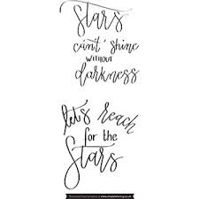 Lettering Templates Reach For The Stars Lettering Templates Simply Lettering