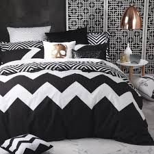 marley black duvet cover