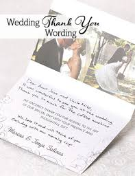 Wedding Thank You Wording | Magnetstreet Weddings