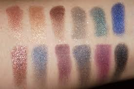 swatches sleek makeup i divine eyeshadow palette in arabian nights with flash