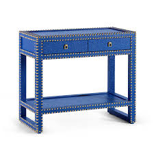 blue console table. Marco Blue Contemporary Console Table