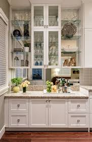 vancouver wet bars with tropical drinking glasses home bar transitional and drinks cabinet glass shelves