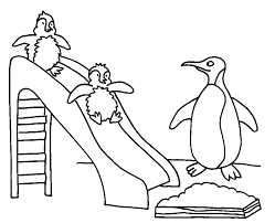 Printable Penguin Coloring Pages Kids Coloring Pages