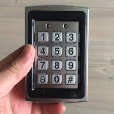 Eye Intelligent Digital Keyless Code Keypad Card Door Lock ...