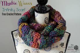 Free Infinity Scarf Crochet Pattern Custom Mystic Waves Infinity Scarf Free Crochet Pattern The Stitchin Mommy