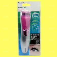 panasonic heated eyelash curler. panasonic eh2331 (pink) double action heated eyelash curler natural curl lashes