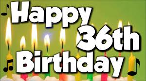 Image result for 36th birthday