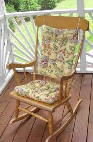 beautiful flower cracker barrel rocking chair cushions dimensions matched with natural wood varnished chair home furniture designs ideas rocker pads nursery rocking chair pads rocking chair