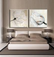 white living room decor wall art set