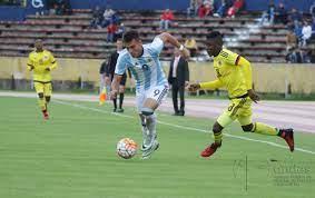 ARGENTINA vs COLOMBIA SUDAMERICANO SUB ...