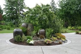 Driveway Planter, Circular Drive Landscaping Driveway Classic Nursery and  Landscape Woodinville, WA