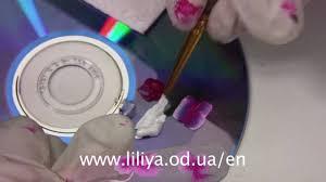 Gelové Nehty S Růžovými Květy Video Jak Se To Dělácz