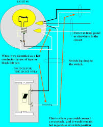 how do i wire a receptacle from a light outlet but keep it hot when Switch Controlled Outlet Wiring Diagram keep receptacle hot post dwg1
