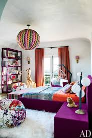 bedroom fluffy sheep rug purple velvet bed chevron bedding kids room better decorating blog ideas