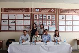 Состоялась онлайн защита магистерских диссертаций в ЕНУ и РУДН по  В ходе защиты были оглашены отзывы научных руководителей и положительная рецензия от заместителя заведующего Отделом международных связей и Протокола