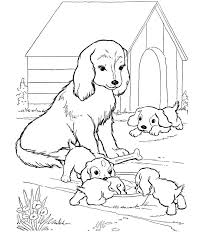 Small Picture Stunning Puppy Coloring Page Gallery Coloring Page Design