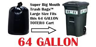 garbage bag sizes.  Sizes Alternative Views Inside Garbage Bag Sizes
