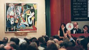 the picasso is the centerpiece of a blockbuster of contemporary art on monday and wednesday all told up to 2 5 billion worth of art is expected to