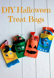 homemade halloween candy bags. Contemporary Bags Scare Up Some Silly Fun This Halloween With These Easy To Make Treat Bags  Inside Homemade Candy Bags R