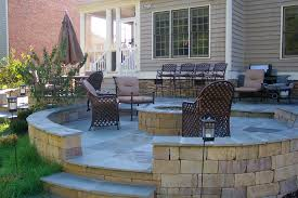 paver patio with deck. Brilliant Deck This Is Actually A Bluestone Patio With Paver  And Paver Patio With Deck C