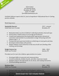 20 Sample Resume For Caregiver