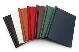 leather springback binders