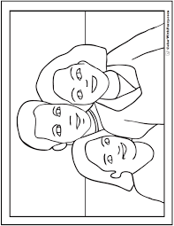 Small Picture Happy Fathers Day Coloring Pages Father Mother Daughter