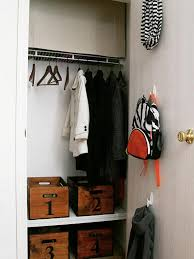 small closet organization ideas inside coat design