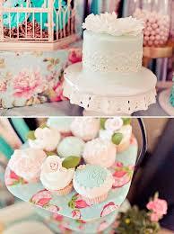 Vintage Rose + Little Birdie Themed Birthday Party