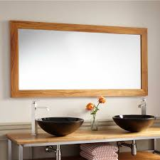 55 wulan teak mirror bathroom mirrors