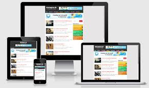 responsive blogger templates maha simple responsive blogger template akutemplates
