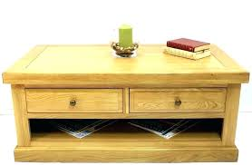 2 drawer end tables coffee tables with drawers oak coffee table with drawers oak coffee table