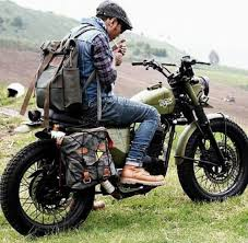roadtrip mens style cafe racer rider trail tracker scrambler