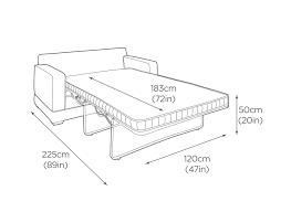 2 seater sofa bed 165cm sa2 sofa