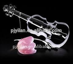 novelty gl guitar shaped gifts decorative violin