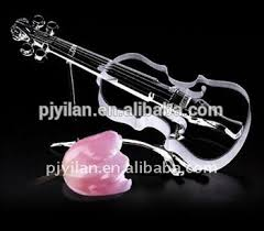 novelty gl guitar shaped gifts decorative violin