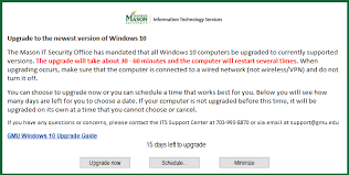 How To Upgrade To Windows 10 Information Technology Services