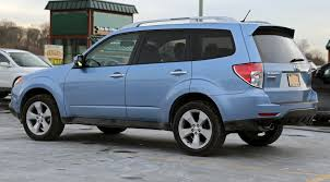 Subaru Forester Light Blue File 2012 Subaru Forester Xt Facelift Rear Side Jpg