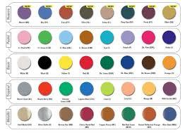 Mehron Paradise Aq Color Chart Ball Beauty Supply