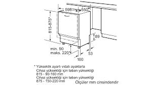 SIEMENS - SN64E003TR - Tam Ankastre Bulaşık Makinesi