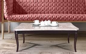 royaloak oscar coffee table in italian natural marble top