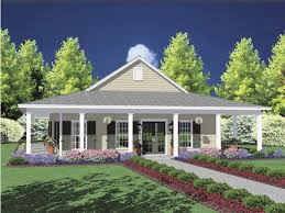 one story house plans with porch. Eplans Country House Plan - Timeless Home With Wraparound Porch 1567 Square Feet And 3 Bedrooms From Code HWEPL61827 One Story Plans S