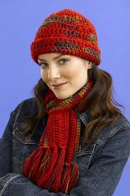 Crochet Hat And Scarf Patterns Free