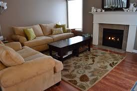 Decorative Wooden Shelf Brackets Modern Living Room Carpet Beige Wood Rustic Coffee Table Shelf