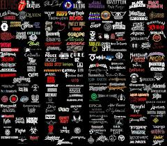 logos bands of all styles of rock and metal by luacristina
