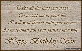 Birthday Wishes For Stepson Wishesmessages Com