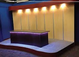 tv studio furniture. Television Tv Studio Production Anchor Broadcast Desk Furniture E