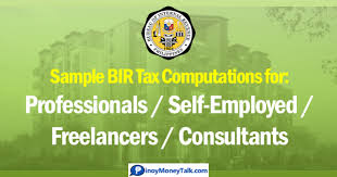 Bir Tax Chart Updated 8 Bir Tax Rule For Self Employed And Professionals